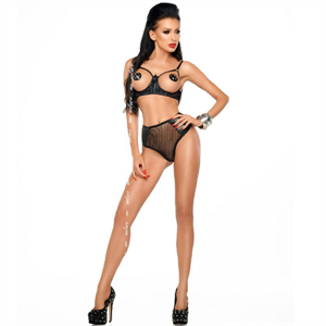 <Sin asignar> Me-seduce Jade Set Negro S/M