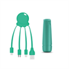 <Sin asignar> Xoopar After Work Power Pack adaptador multi conector + batería emergencia 2600 mAh verde