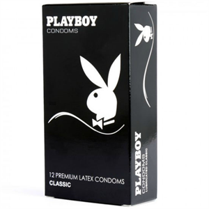 PLAYBOY Playboy Classic Transparente Pleasure 54mm 12 Uds