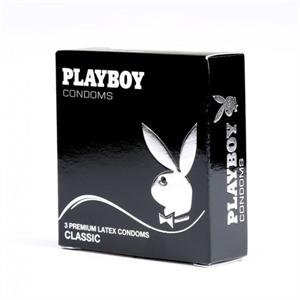 PLAYBOY Playboy Classic Transparente Pleasure 54mm 3 Uds
