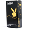 PLAYBOY Playboy Ultra Fino Condon Transparente 12 Uds 54mm