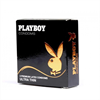 PLAYBOY Playboy Ultra Fino Condon Transparente 3 Uds 54mm
