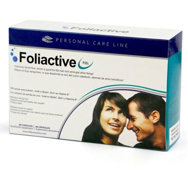 500cosmetics - Folieactive Pills Complemento Alimenticio Caida Pelo
