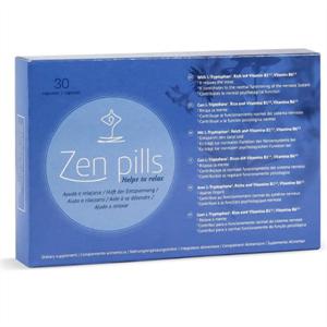500cosmetics Zen Pills Capsulas Relajacion Y Reduccion Ansiedad