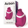 Action No. Seven 2 en 1 Succionador de Clítoris y Lengua