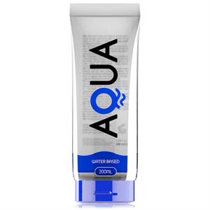 Aqua Quality Lubricante Base De Agua  200ml