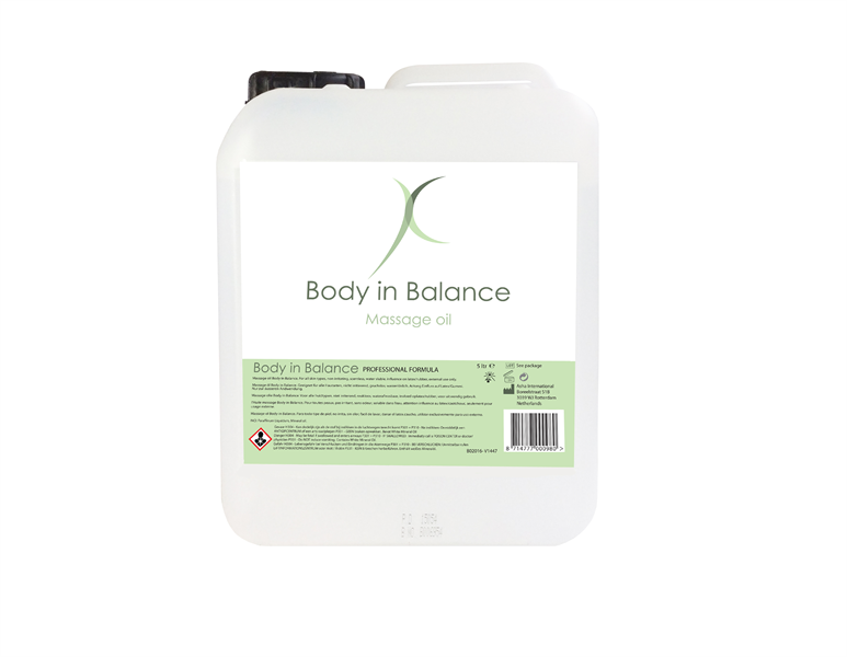 Asha International - Body in Balance Aceite de Masaje 5L.