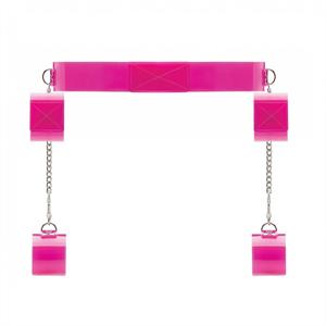 Bad Romance Cinturon Con Esposa Rosa Brillo
