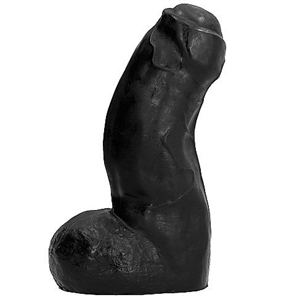 Belgo-prism All Black Realistic Dong Negro 17cm