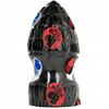 Belgo-prism - All Black Explosive Anal Plug 15cm