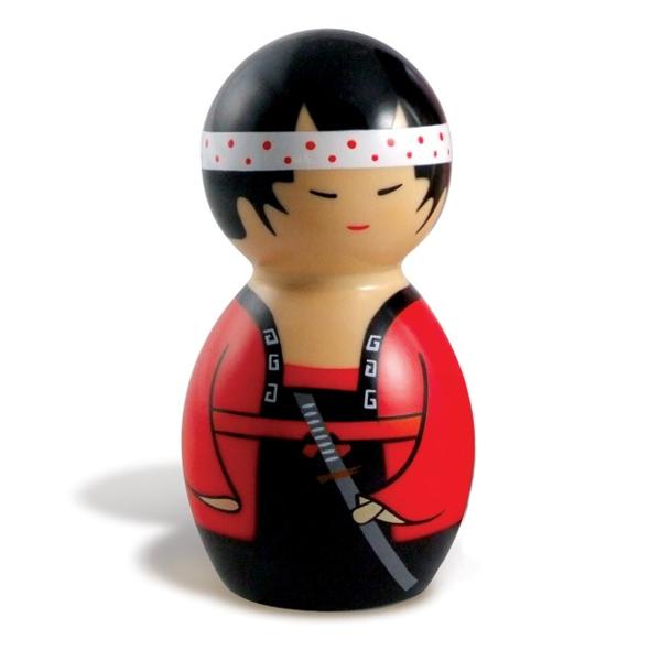 Big Teaze Toys - Kokeshi Dancer Masajeador Corporal Modelo Chico