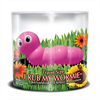 Big Teaze Toys - I Rub My Wormie Tamaño de viaje rosa