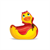 Big Teaze Toys I Rub My Duckie Tamaño Viaje Red Devil