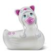 Big Teaze Toys I Rub My Duckie Travel sudadera con capucha Kitty White