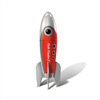 Big Teaze Toys Retro Pocket Rocket Red