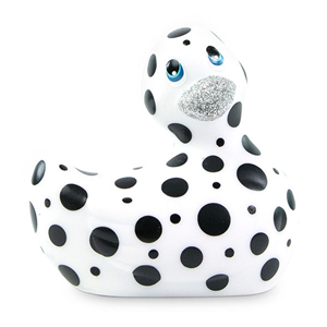 Big Teaze Toys I Rub My Duckie 2.0 | Pato Vibrador  (white & Black)