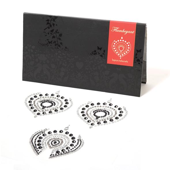 Bijoux Indiscrets - Bijoux Indiscrets - Flamboyant Negro y Plata