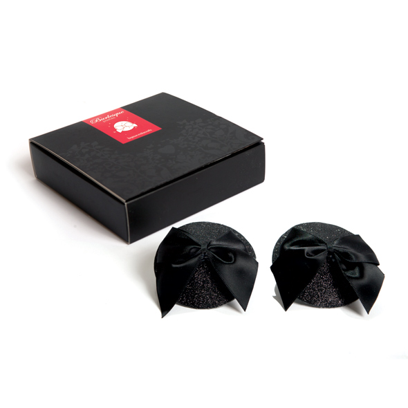 Bijoux Indiscrets - Bijoux Indiscrets - Burlesque Pasties Glitter Bow