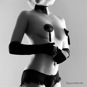 Bijoux Indiscrets Bijoux Burlesque Cubrepezones Negro