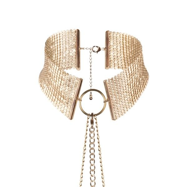 Bijoux Indiscrets - Désir Métallique Collar Metálico Dorado