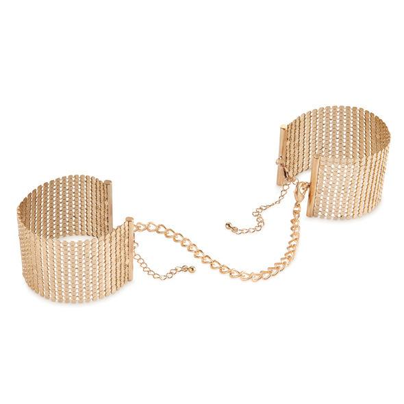 Bijoux Indiscrets - Desir Metallique Esposas Malla Metalicas Doradas