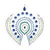 Bijoux Indiscrets - Bijoux Indiscrets Flamboyant Azul&verde