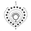 Bijoux Indiscrets Flamboyant Negro&plata