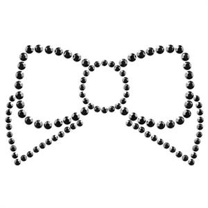 Bijoux Indiscrets Mimi Bow Cubre Pezones Negro.