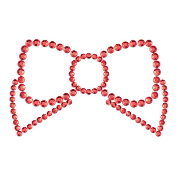Bijoux Indiscrets - Mimi Bow Cubre Pezones Rojo.