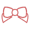Bijoux Indiscrets Mimi Bow Cubre Pezones Rojo.