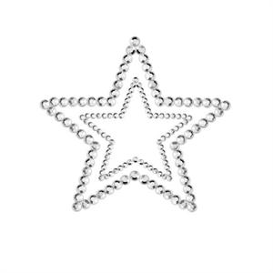 Bijoux Indiscrets Mimi Start Cubre Pezones Plata