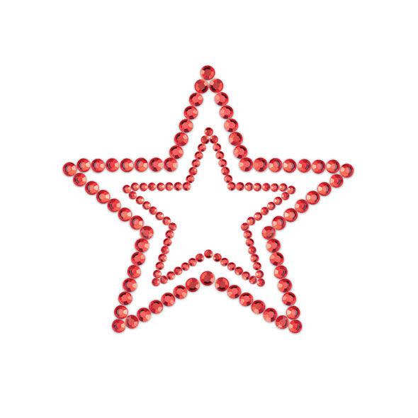 Bijoux Indiscrets - Mimi Start Cubre Pezones Rojo