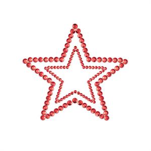 Bijoux Indiscrets Mimi Start Cubre Pezones Rojo