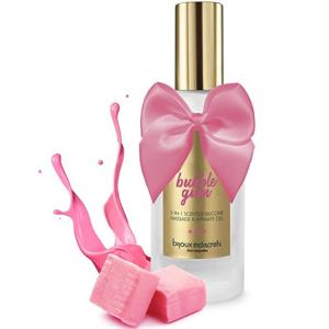 Bijoux Indiscrets Bubble Gum Gel 2 En 1 Sabor Chicle De Fresa