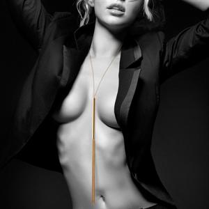 Bijoux Indiscrets Bijoux Magnifique Collar / Latigo De Cadenas Metálicas