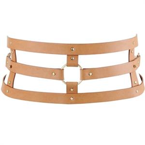 Bijoux Indiscrets Maze Cinturon Con Correa - Marron