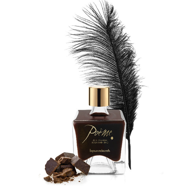 Bijoux Indiscrets - Poeme Pintura Comestible Chocolate Negro 50gr