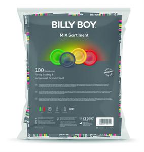 Billy Boy Billyboy Mix Bolsa Preservativos Variados 100 Unidades