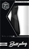 Bottom Line - Bottomline M3-7 Buttplug Anal Rubber Negro 18 X 5.2cm