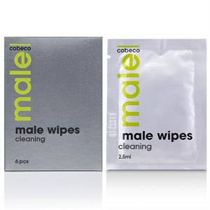 Cobeco Pharma Cobeco Male Wipes Toallitas Higienicas 6 X 2.5ml