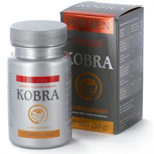 Cobeco Pharma Kobra Potenciador Masculino 30 Tabs