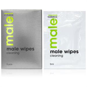 Cobeco Pharma Male Cobeco Toallitas Limpiadoras Para Zona Genital Hombre 5 X 5ml