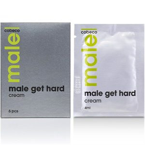 Cobeco Pharma Male Crema Vigorizante Para El Hombre 6pcs 4ml
