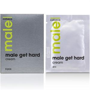 Cobeco Pharma Male Toallitas  Vigorizantes Para El Hombre 6pcs 4ml