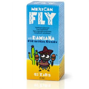 Cobeco Pharma Mexican Fly Capsulas Afrodisiacas 15 Caps