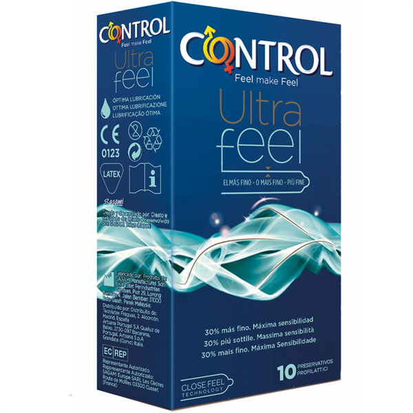 Control Ultra feel 10 uds
