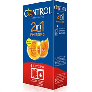 Control Duo Finisimo + Lubricante 6 Unidades