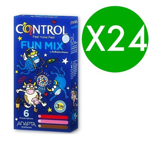 Control Feel Fun Mix Kukuxumusu 6 Uds / Pack 24 Uds