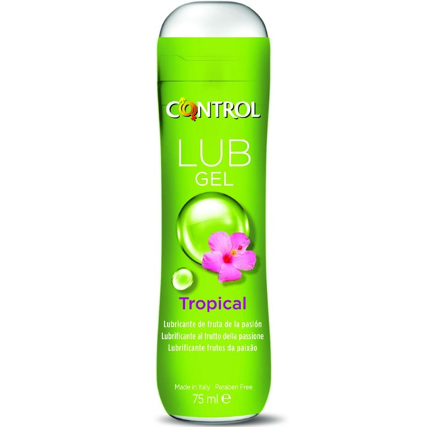 Control Lub Gel Lubricante Tropical 75 Ml