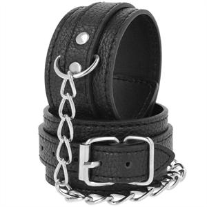 Darkness Dark Ness  Esposas Leather Negro